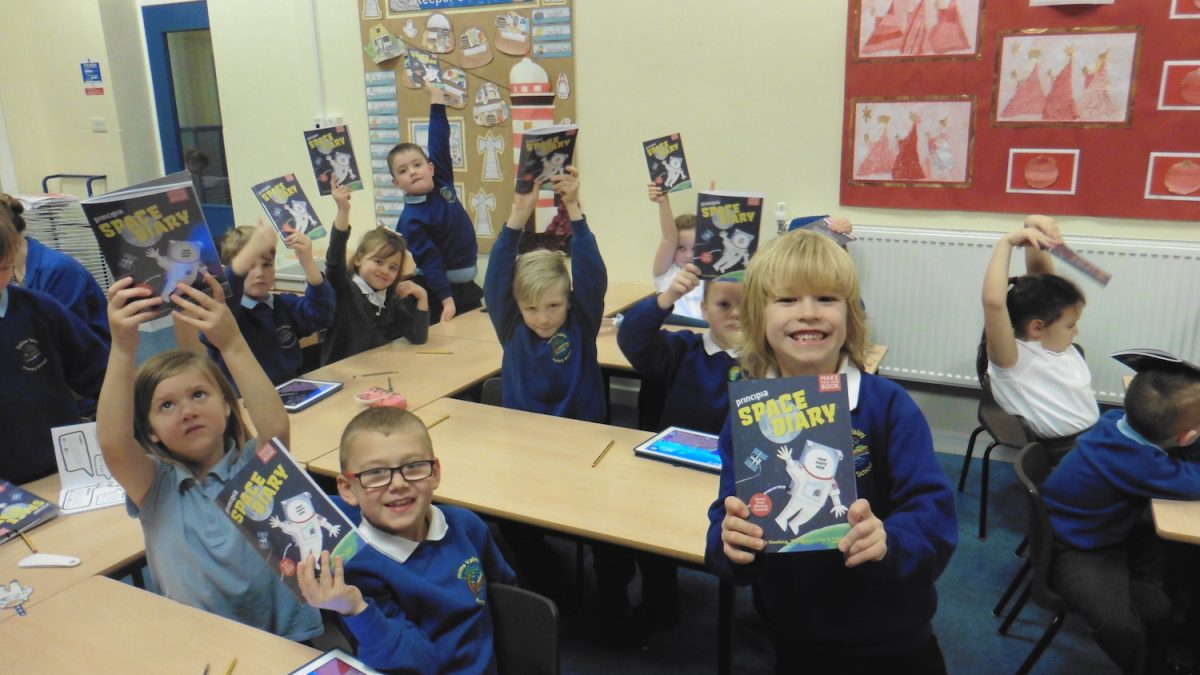 Curved House Kids to publish UK Space Agency-funded Space Diary