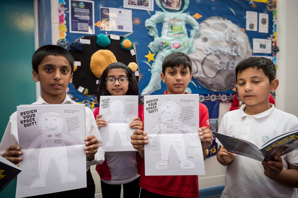 Principia Space Diary to reach 30,000 UK schoolchildren
