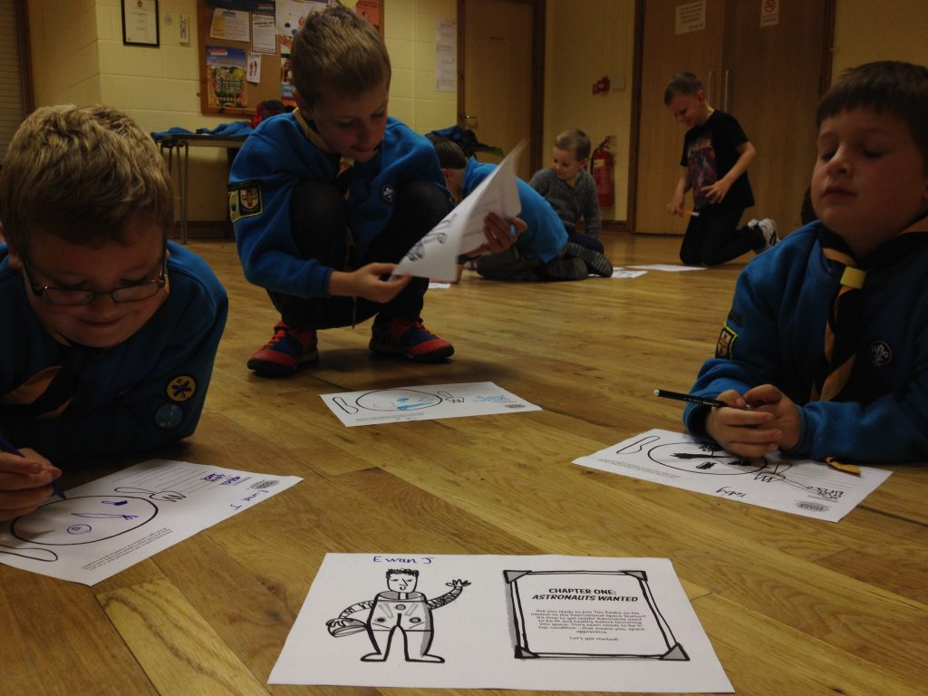Principia, Tim Peake, Scouts, Space Diary, STEM, teaching resources, primary education