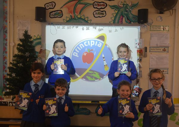 Y3 students countdown to Principia launch!