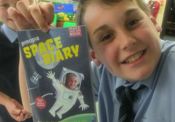martham primary school, principia, space diary, tim peake