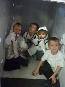 RTS Primary School, principia, tim peake, space diary