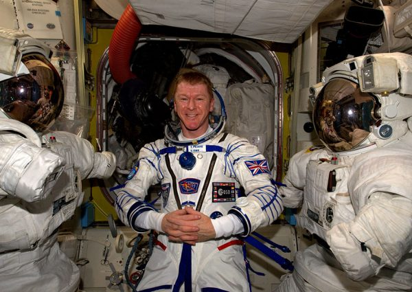 Watch Astronaut Tim Peake Return to Earth