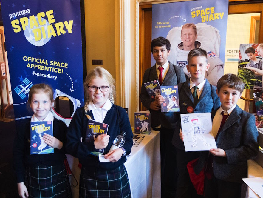 Principia Schools Conference: Meeting Tim Peake