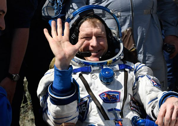 Tim Peake returning to space