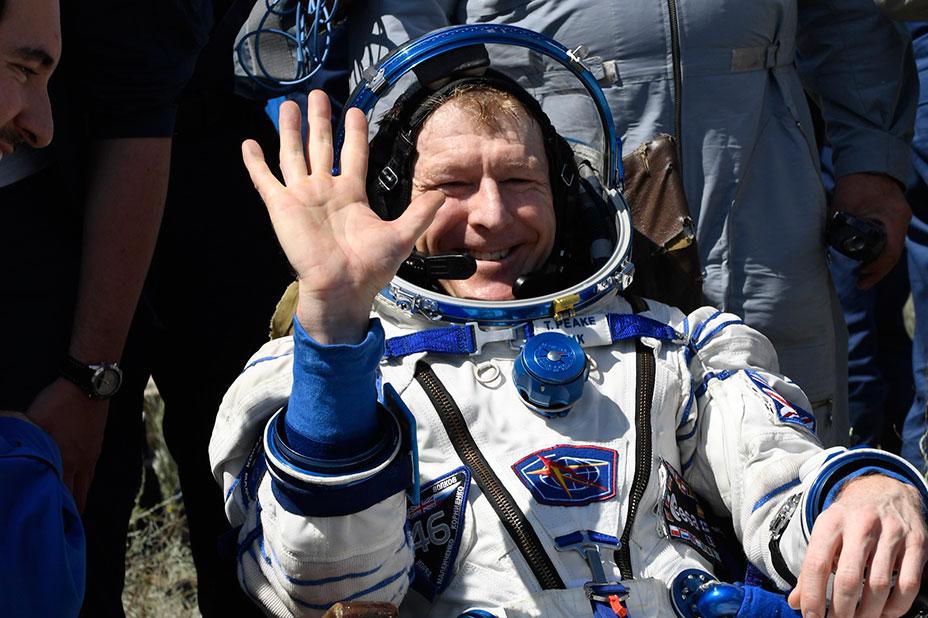 Tim Peake returning to space