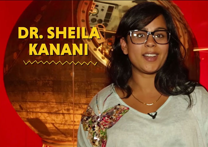 Chapter Four: Astronomer Sheila Kanani talks about doing experiments in space