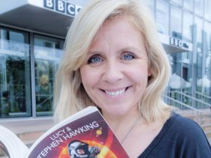lucy hawking, space diary