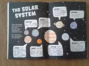 star apprentice chloe, principia space diary, solar system