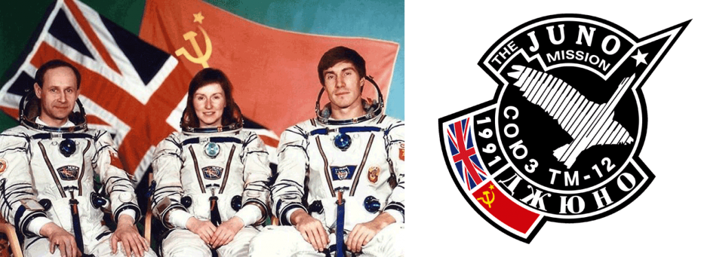 helen sharman, mission patch, principia space diary