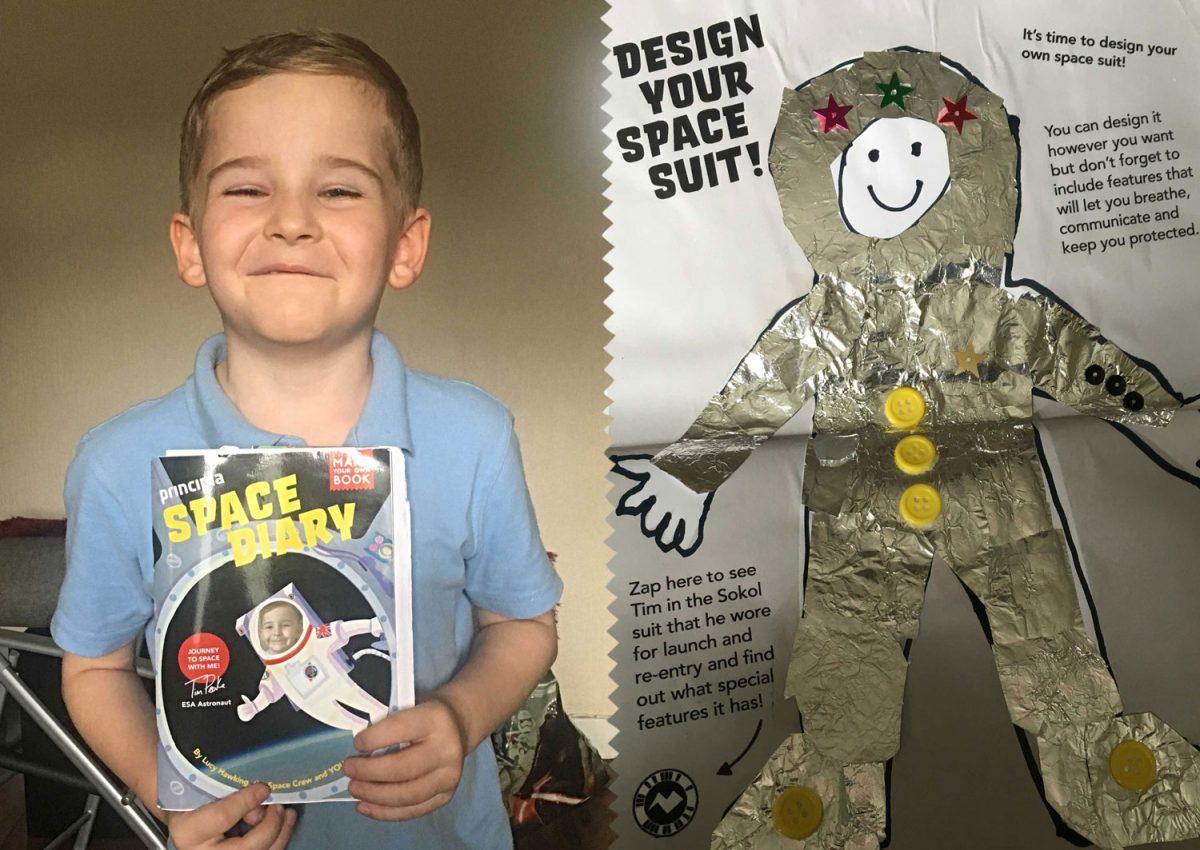 Star Apprentice Luke: Making great strides