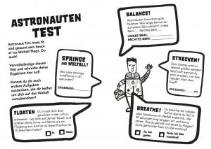 Principia Space Diary, German, Deutsch, Astronaut Workout auf Deutsch