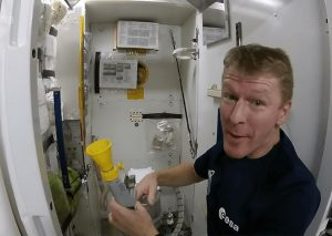 tim peake, astronauts, toilet in space, discovery diaries