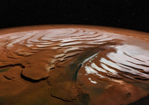 Is the soil on Mars really red?