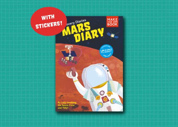 Mars Diary STEM Activity Book