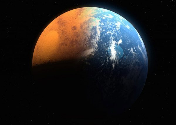 Mars's missing oceans