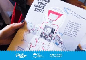 principia space diary, design your spacesuit, year of engineering