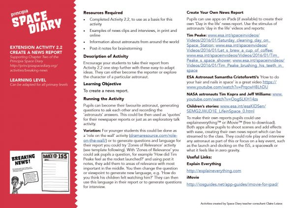 Create a News Report