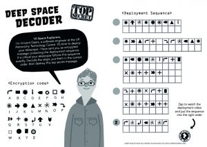 Deep Space Diary, Discovery Diaries, Deep Space Decoder