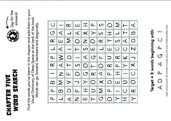 Chapter Five Word Search