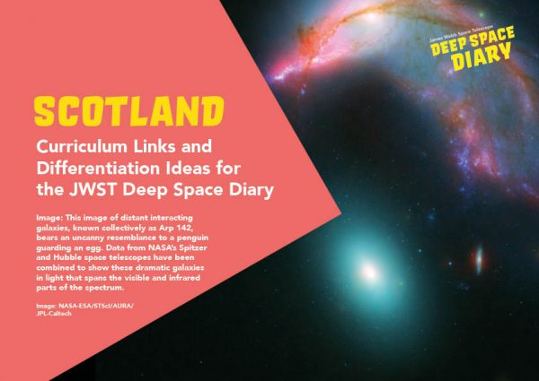 Deep Space Diary Curriculum Guide Scotland