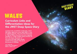 Deep Space Diary, Discovery Diaries, Curriculum Guides, Wales