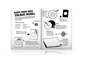 Deep Space Diary, Discovery Diaries, Make Your Own Colour Wheel