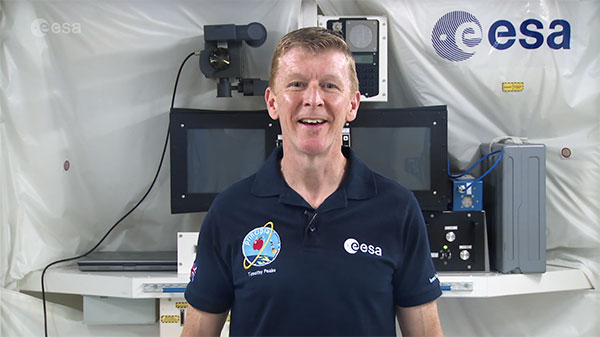 Deep Space Diary, Message from Tim Peake