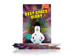 Deep Space Diary, Discovery Diaries, Stack of Books