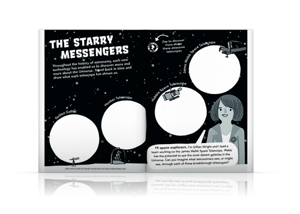 Deep Space Diary, Discovery Diaries, The Starry Messengers