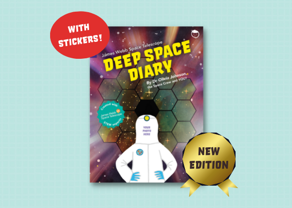 Deep Space Diary STEM Activity Book (New Edition)