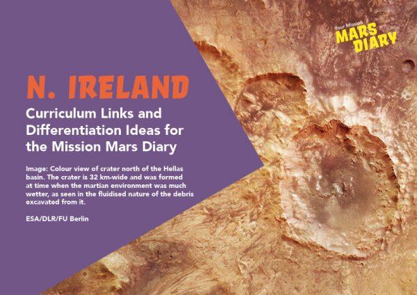 Mars Diary Curriculum Guide Northern Ireland