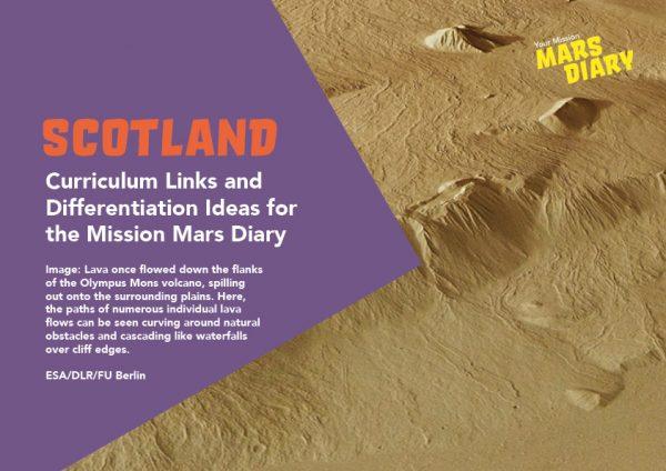 Mars Diary Curriculum Guide Scotland