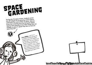 Principia Space Diary Space Gardening