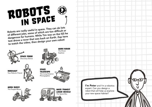 Principia Space Diary Robots in Space