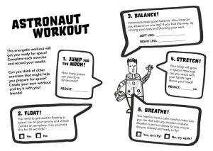 Principia Space Diary Astronaut Workout