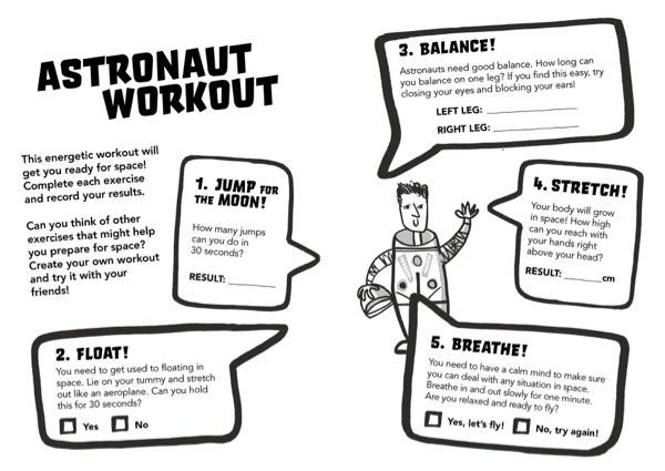 Astronaut Workout