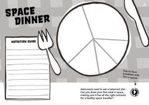 Principia Space Diary Space Dinner