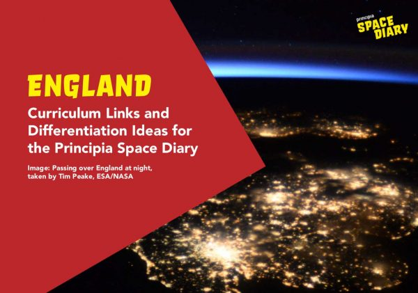 Space Diary Curriculum Guide England