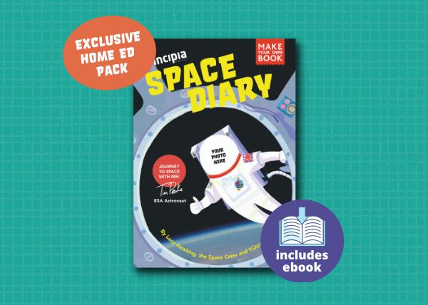 Principia Space Diary Home Educator Pack
