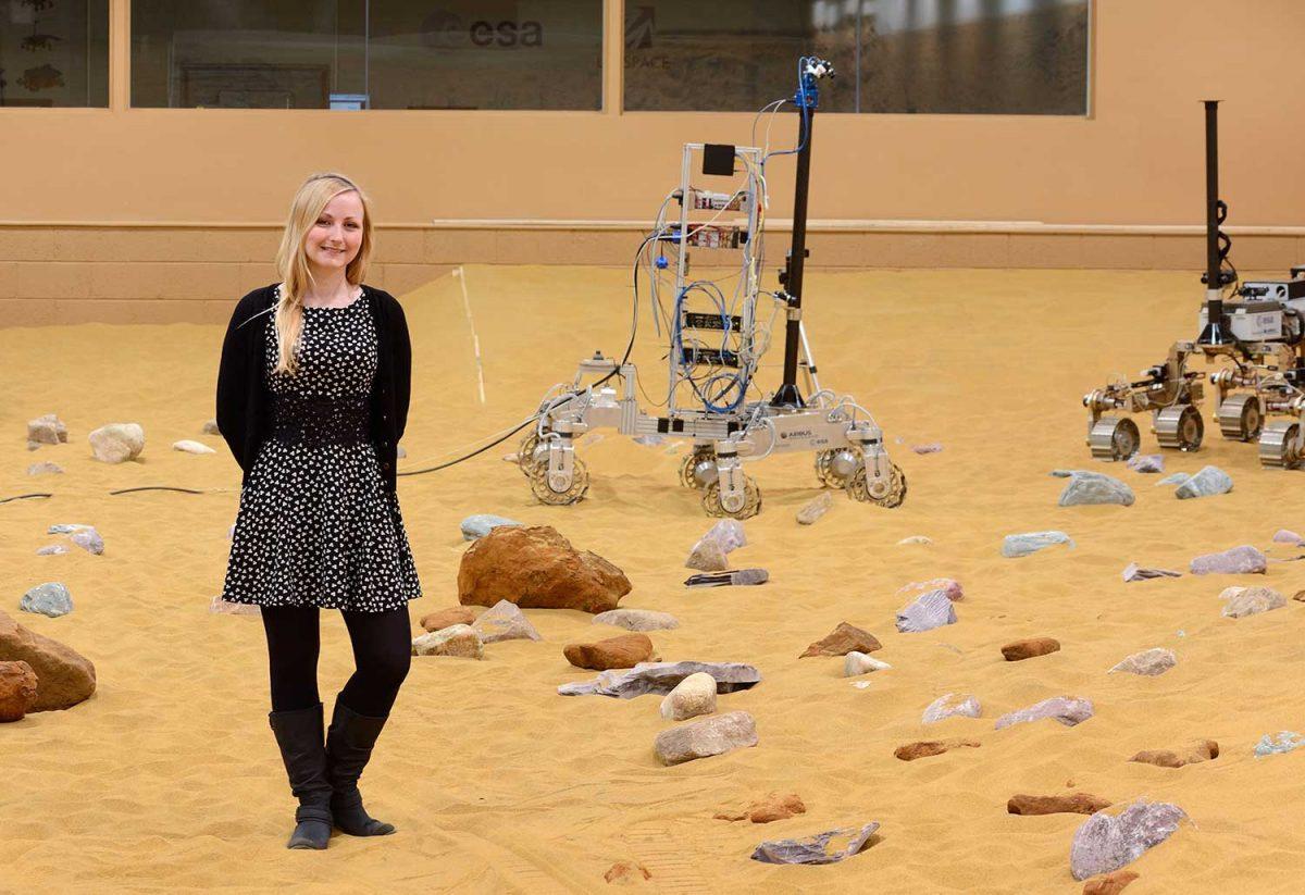 Abbie Hutty: Lead Spacecraft Structures Engineer
