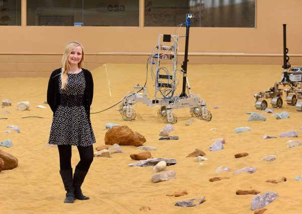Abbie Hutty: Lead Spacecraft Structures Engineer