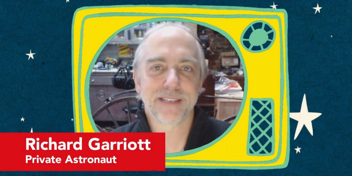 richard garriott, principia space diary, astronaut