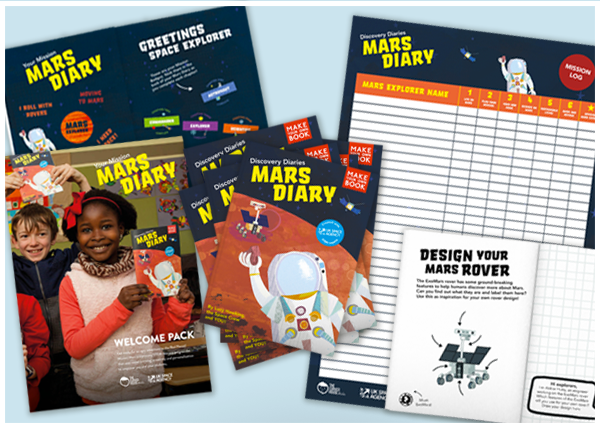Mars Diary – Class Pack (30 students)