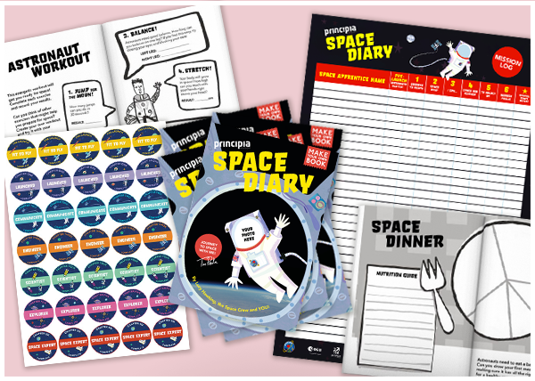 Space Diary – Class Pack (30 students)