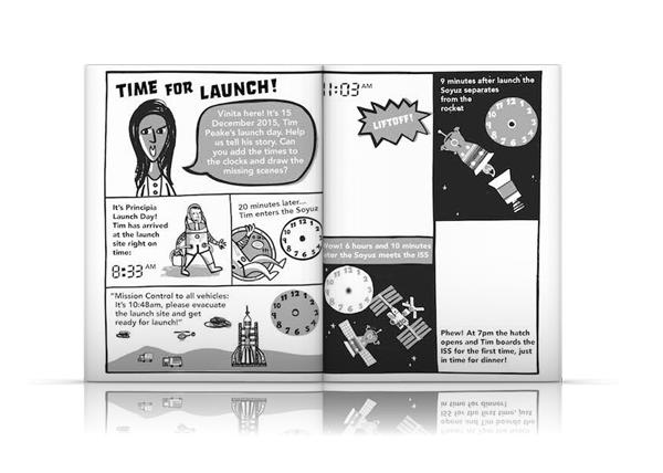 Principia Space Diary Primary Science STEM Tim Peake UKSA