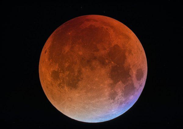 It's a super blue blood moon!