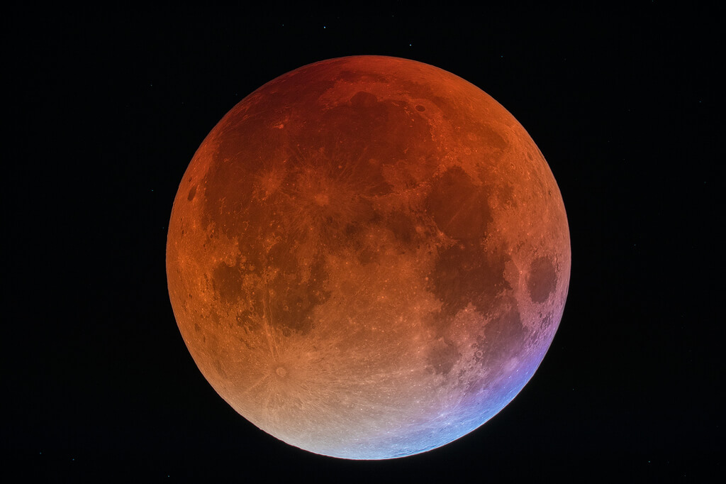 It's a super blue blood moon!