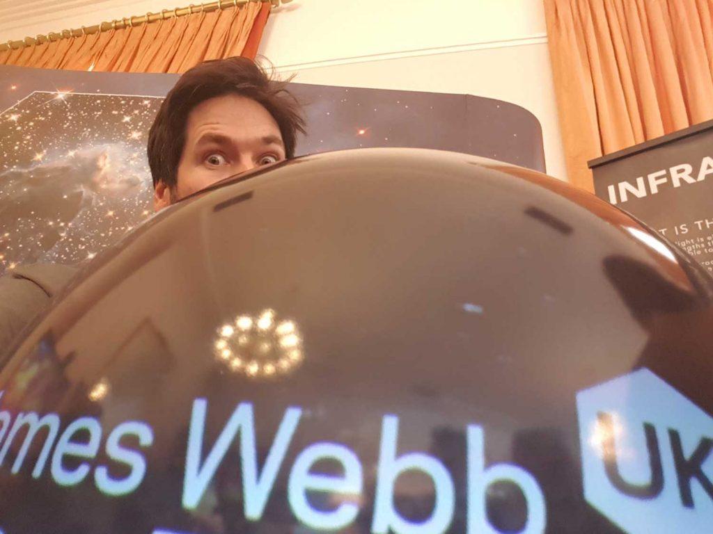 Alastair Bruce, Deep Space Diary, James Webb Space Telescope, Webb