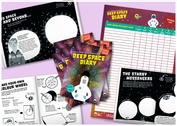 Deep Space Diary Class Pack (30 Students)